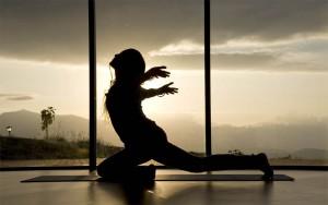 Mysachaji yoga class